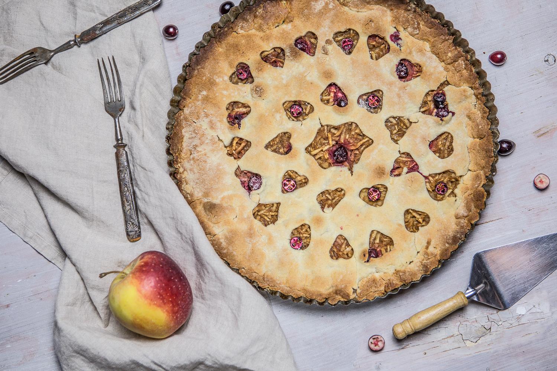 Jablkový koláč bez mlieka a cukru
