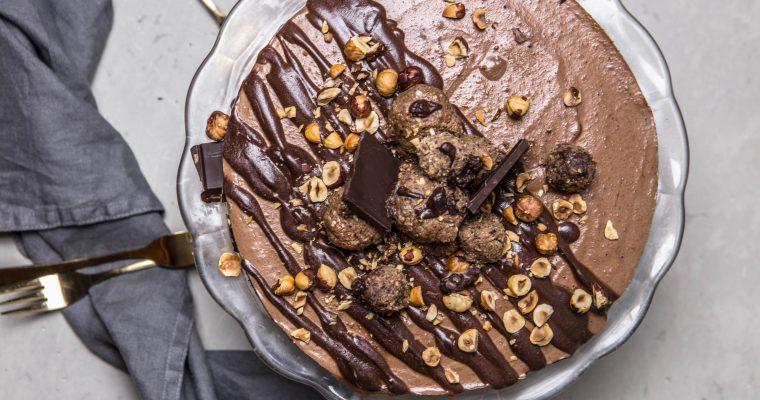 Nugátová RAW torta