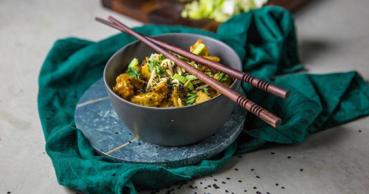 Vietnamské kura s karamelom