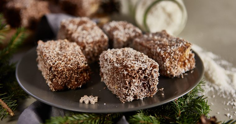 Bezlepkové, bezlaktózové čokoládové ježe